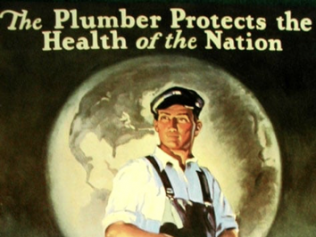 The Plumber Protects the Health of the Nation